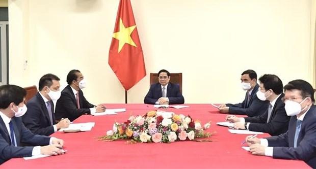Robustecen Vietnam y Belgica lazos bilaterales hinh anh 1
