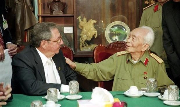 Exposicion en Argelia realza trayectoria revolucionaria del general Vo Nguyen Giap hinh anh 1