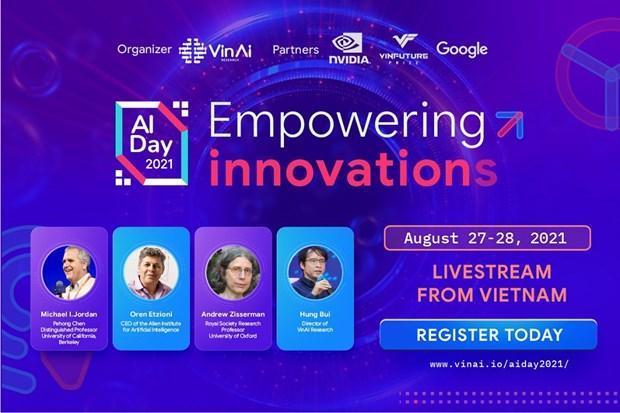Fundador del aprendizaje automatico asistira al Dia de Inteligencia Artificial de Vietnam hinh anh 1