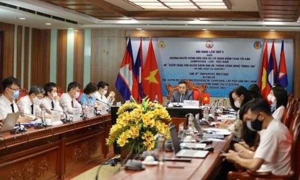Vietnam asiste a conferencia de auditoria con Laos y Camboya hinh anh 1