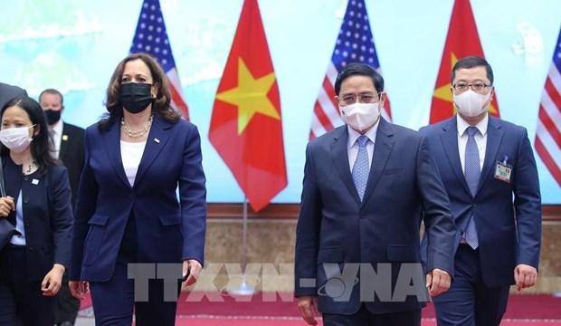 Casa Blanca realza fomento de asociacion integral Estados Unidos-Vietnam hinh anh 1