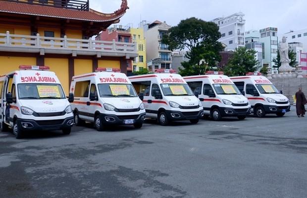 Comunidad religiosa apoya lucha contra COVID-19 en Ciudad Ho Chi Minh hinh anh 1