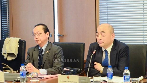 Vietnam y Japon intercambian experiencias para mejorar actividades parlamentarias hinh anh 2