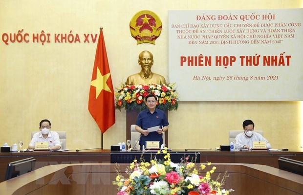 Vietnam por promover construccion y perfeccionamiento del Estado de derecho socialista hinh anh 1