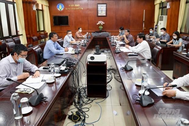 Buscan eliminar obstaculos en comercio agricola entre Vietnam y China hinh anh 1