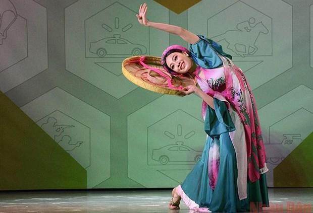 Danza individual vietnamita obtiene cuarto puesto en Army Games 2021 hinh anh 1