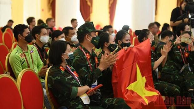 Danza individual vietnamita obtiene cuarto puesto en Army Games 2021 hinh anh 2