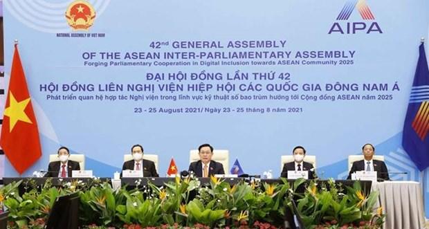 Brunei valora aportes de Vietnam al exito de la AIPA-42 hinh anh 1