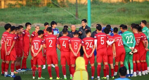 Vietnam cierra convocatoria para medirse a Arabia Saudita en eliminatorias mundialistas de futbol hinh anh 1