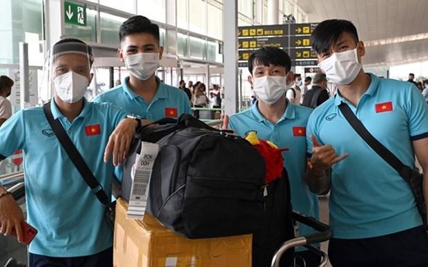 En Espana seleccion vietnamita de futbol sala hinh anh 1