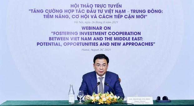 Vietnam y Oriente Medio buscan fortalecer cooperacion inversionista hinh anh 1