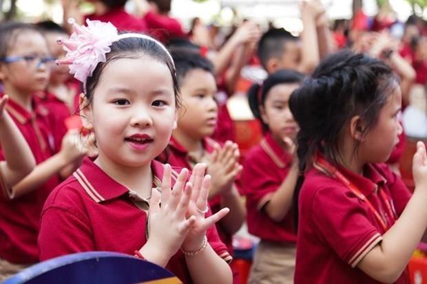 Alumnos de Hanoi comenzaran nuevo ano escolar el 5 de septiembre hinh anh 1