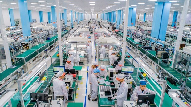 Crece desembolso de inversion extranjera directa en Vietnam hinh anh 1