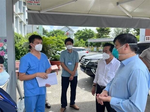 Primer ministro vietnamita inspecciona control pandemico en provincia surena hinh anh 2