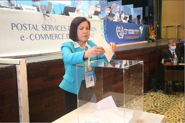 Elegido Vietnam miembro del Consejo de Explotacion Postal de la UPU hinh anh 1