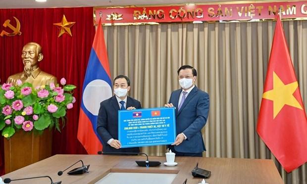 Intensifican Hanoi y Vientiane cooperacion multifacetica hinh anh 2