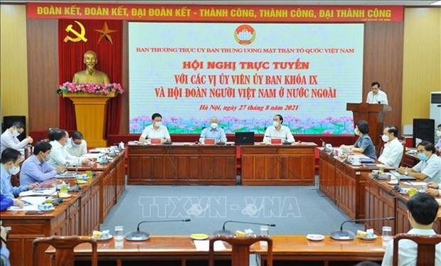 Destacan aportes de vietnamitas residentes en extranjero a la lucha contra el COVID-19 hinh anh 1
