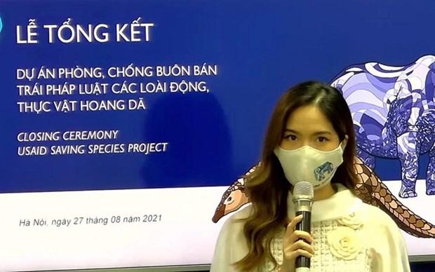 Estados Unidos ayuda a Vietnam a proteger la vida silvestre hinh anh 1