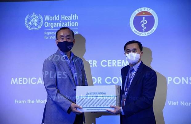 OMS dona insumos medicos a Vietnam para combatir el COVID-19 hinh anh 1