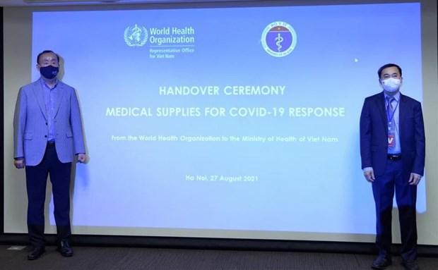 OMS dona insumos medicos a Vietnam para combatir el COVID-19 hinh anh 2
