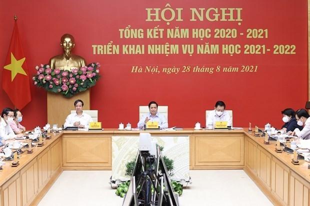 Primer ministro de Vietnam insta a garantizar la seguridad del nuevo ano escolar hinh anh 1