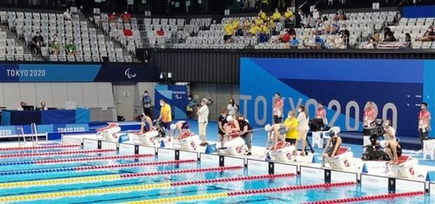 Nadadores vietnamitas avanzan a ronda final de los Juegos Paralimpicos de Tokio 2020 hinh anh 1