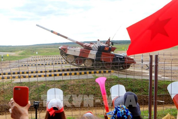 Vietnam con buenos resultados en Army Games 2021 hinh anh 2