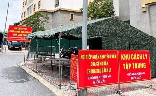 Hanoi intensifica tareas de prevencion y control del COVID-19 hinh anh 1