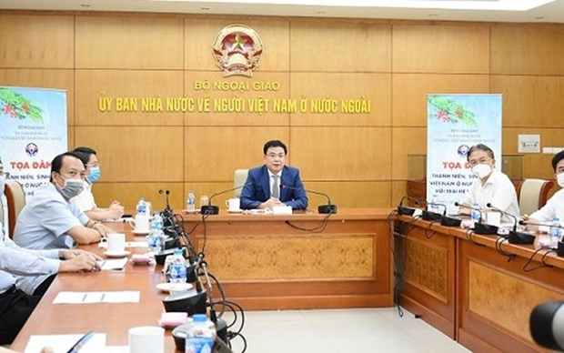 Campamento veraniego promueve intercambio entre vietnamitas en ultramar hinh anh 1