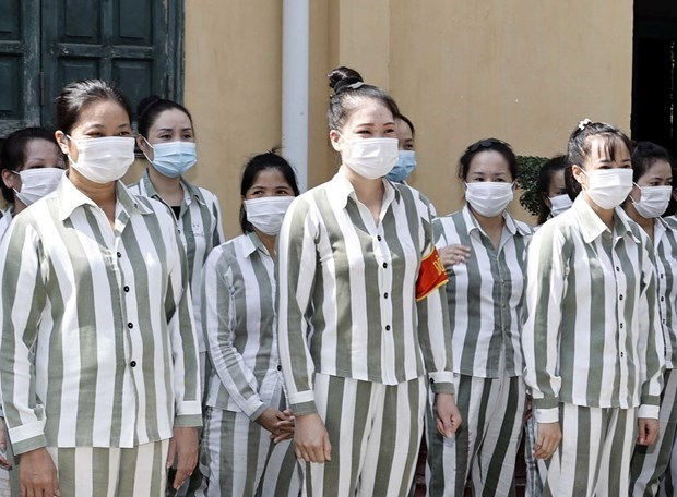 Mas de tres mil presos en Vietnam se benefician de la amnistia hinh anh 1