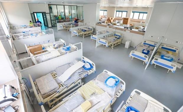 Hanoi pondra en funcionamiento hospital de tratamiento de pacientes del COVID-19 con 500 camas hinh anh 1