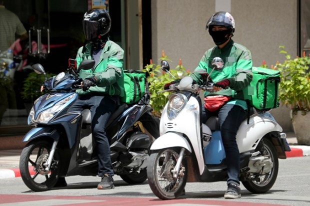 Ciudad Ho Chi Minh permite a repartidores de mercancias reanudar actividades hinh anh 1