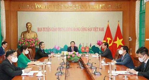 Vietnam concede importancia al impulso de los nexos con China hinh anh 1