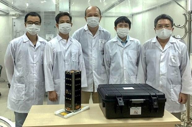 Satelite NanoDragon marca nuevo exito de la industria espacial de Vietnam hinh anh 1