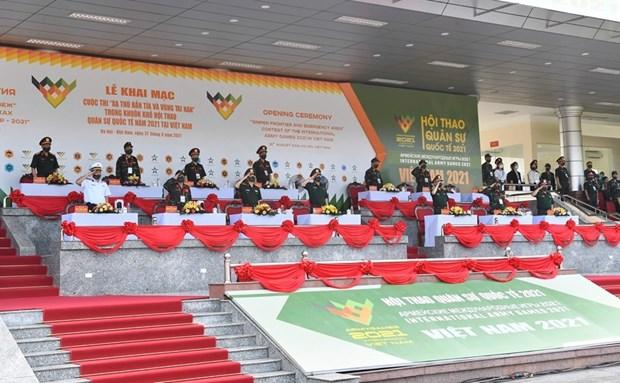 Army Games 2021: Inauguran concursos