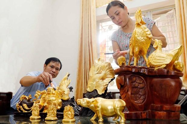 Hanoi dispone de otros dos patrimonios culturales intangibles nacionales hinh anh 1