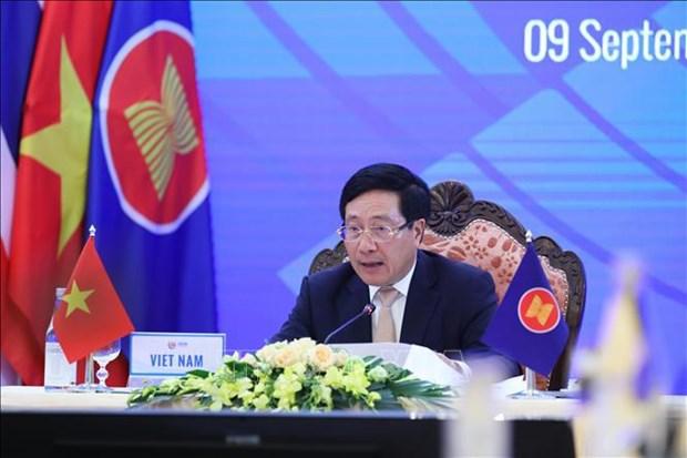Promueven mecanismo de ventanilla unica nacional y de ASEAN hinh anh 1