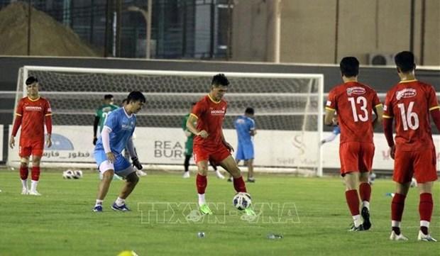 Eliminatorias de Mundial 2022: Vietnam listo para partido contra Arabia Saudita hinh anh 1