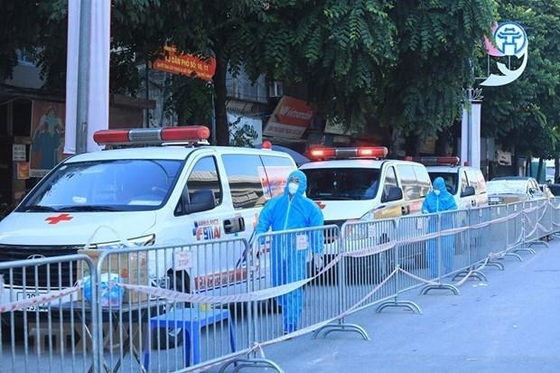 Hanoi confirma 40 nuevos casos del COVID-19 hinh anh 1