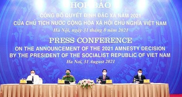 Anuncian Decision de amnistia de Vietnam 2021 hinh anh 1