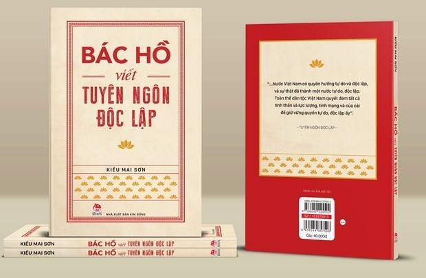 Presentan libro sobre la Declaracion de Independencia de Vietnam hinh anh 1