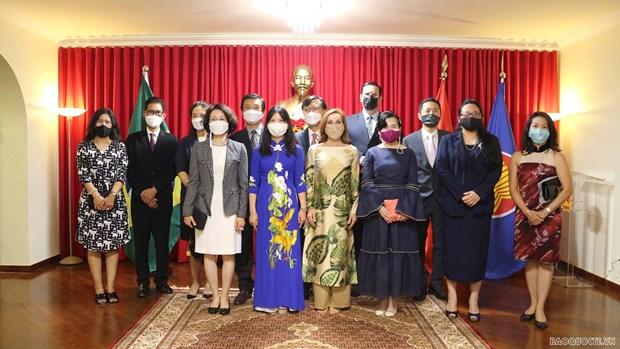 Realzan progreso de lazos multifaceticos entre Vietnam y Brasil hinh anh 1