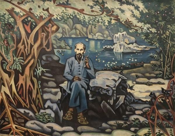"""Exposicion de bellas artes """"Camino de la Independencia"""" conmemora efemerides importantes de Vietnam hinh anh 2"""