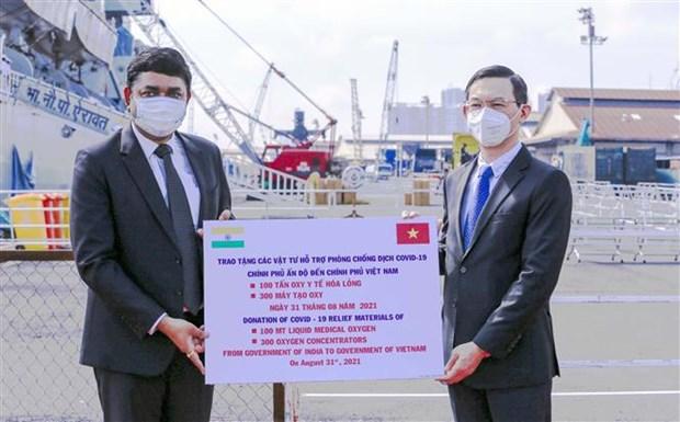 India dona articulos medicos a Vietnam para combatir el COVID-19 hinh anh 2