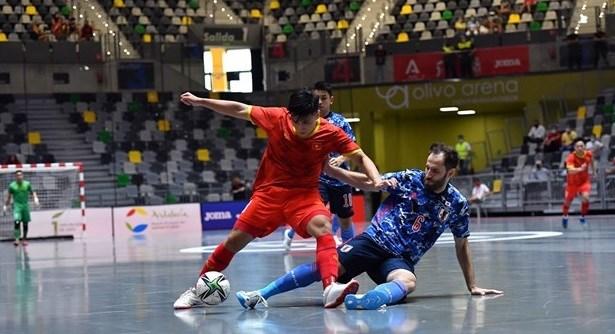 Vietnam listo para participar en Copa Mundial de futbol sala hinh anh 1