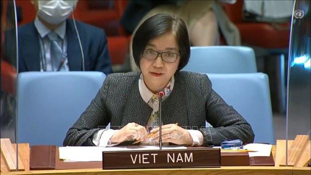 Vietnam llama a impulsar dialogo sobre cuestion palestina hinh anh 1