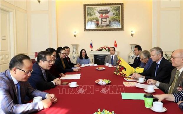 Vietnam promueve actividades de diplomacia popular en Rusia hinh anh 1