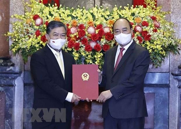 Nombran a nuevo embajador vietnamita en Camboya hinh anh 1