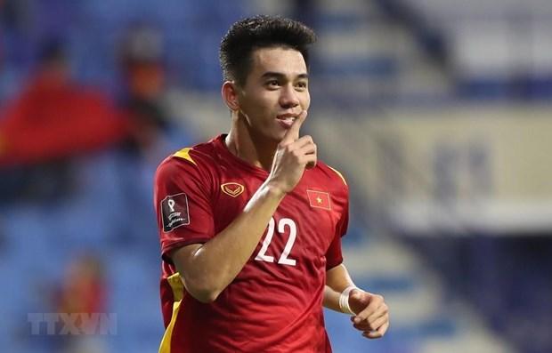 Copa Mundial 2022: Jugador vietnamita aparece en cartel especial de la FIFA hinh anh 1