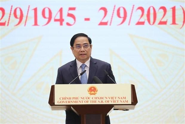 El ser humano debe ser el centro del desarrollo, afirma premier vietnamita hinh anh 2
